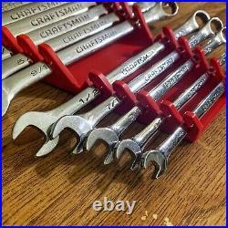 Vintage Craftsman Professional USA Long SAE Wrenches 1/4 thru 1 13 Pieces
