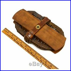 Vintage DISSTON CHAIN-LINK HAND SAW Military Field Gear WWII ERA Folding Tool