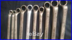 Vintage Hazet 630 british standard withworth ring spanners