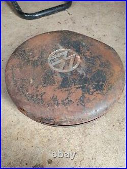Vintage Hazet Volks Waggon Vw Spare Wheel Metal Tool Box Original