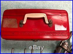 Vintage Lisle Cylinder Engine Hone Kit Rigid Hone with Metal Case