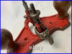 Vintage Marples M71 Open Throat Hand Router Plane