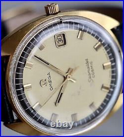 Vintage OMEGA SEAMASTER COSMIC HERREN 136017 sp-tool 107 HANDAUFZUG 1960er