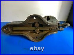 Vintage RECORD No. 25 6 Inch Jaw Quick Release Engineering Bench Vice England
