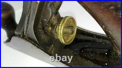 Vintage STANLEY NO 2 Wood Plane Imperfect Rare Hand Plane ID3240 B85