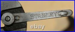 Vintage Stanley No 2 Hand Plane With V Logo Balde 1912-1918