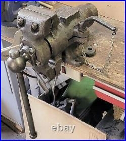 Vintage Swinden's Patent Vice Rotating Jaws Engineer Mechanic Blacksmith Vise