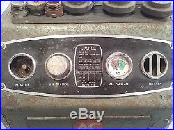 Vintage spark plug cleaner and tester. Very rare AC plug doctor model