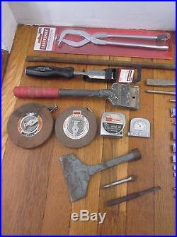 Vtg & NOS CRAFTSMAN 300pc Ratchet Socket Wrench Pliers Hammer Tool Box Set LOT