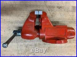 WILTON 28805 Model 1745 4-1/2 TRADESMEN BENCH VISE 4.5 SHOP TOOL MADE IN USA