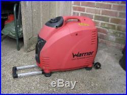 Warrior 3.5 Kva invertor generator