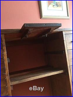 Watchmaker's jeweller's workbench desk antique jewellery fly-tying