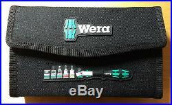Wera 8100 All-in Zyklop Speed Steckschlüsselsatz metrisch 1/4 (6.3 mm) 42teilig