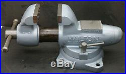 Wilton 400S Bullet Vise with Swivel Base & 4 Brand NEW Serrated Jaws Vice 101157