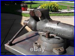 Wilton Vise 4 Wide 101028, 6/74 In Excellent Condition With Extras