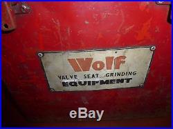Wolf Valve Seat Grinding Equipment (808G)