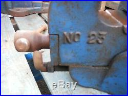 Workshop Mechanics Engineering VICE Workbench RECORD 23 with quick release