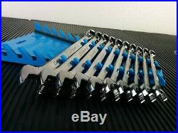 #af781 NEW! 2018/19 Snap-On USA SOEXM710 Flank PLUS Metric 10-19mm Wrench Set