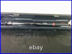 #aj500 SNAP-ON 1/2 DRIVE ATECH3FR250B ELECTRONIC TORQUE WRENCH