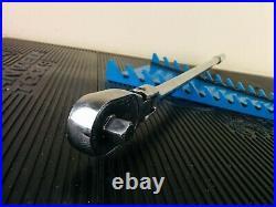 #aj667 Snap On Tools 2018 SLF80A 1/2 Drive Flex Head Ratchet 25 Long