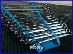 #ak260 ARMSTRONG LONG METRIC COMBINATION WRENCH SET 7MM TO 22MM 15pc